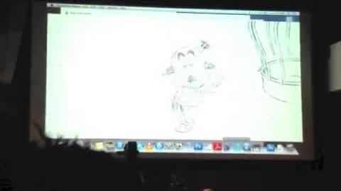Eric Goldberg King Candy Animation Test