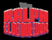 Ralph El Demoledor logo Latin Spanish