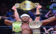 Lashley Triple Champion