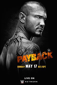 WWE Payback (2015) Poster