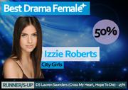 WRIXAS Winter 14 Best Drama Female winner