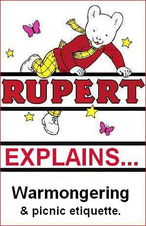 Rupert explains war