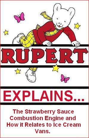 Rupert explains ice cream