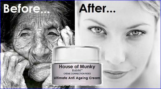Munky ageing cream