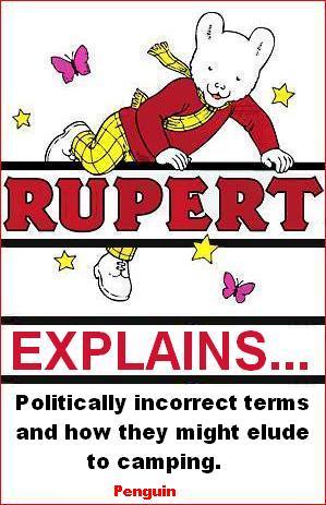 Rupert explains camping