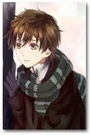 Anime Human boy
