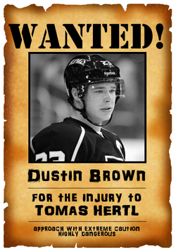 Wanted Dustin Brown