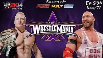 WWE 2K14 Universe (Ep.234 - WrestleMania IV)