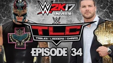 WWE 2K17 Universe - EPISODE 34 - WEEK 8 TLC Tables, Ladders & Chairs