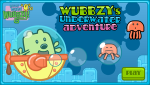 Wubbzy's Underwater Adventure Title Screen