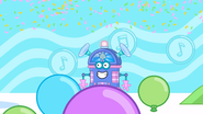 047 Confetti Raining, Balloons Going Up