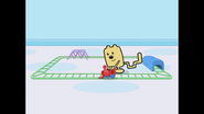 003 Wubbzy Playing With His Train 2