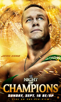 WWE Night Of Champion Official Poster