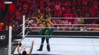 Raw- No. 1 Contender's Diva Battle Royal