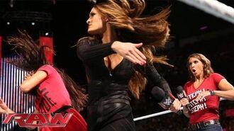 Nikki Bella explains why she betrayed Brie at SummerSlam- Raw, Aug. 18, 2014