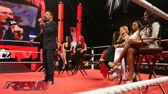 The Miz welcomes the cast of 'Total Divas' to 'Miz TV'- Raw, July 22, 2013