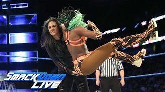 Naomi vs. Tamina- SmackDown LIVE, June 13, 2017