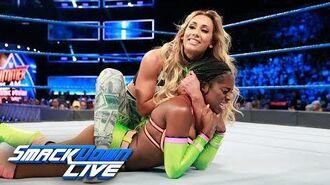 Naomi vs. Carmella- SmackDown LIVE, Aug. 8, 2017