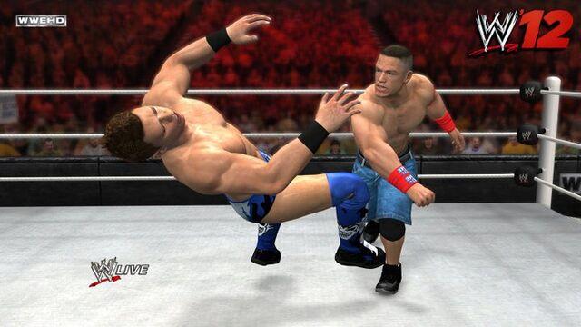 File:John Cena punches The Miz.jpg