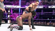 Noam Dar grappling Rich Swann