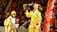 Goldust with the cameraman