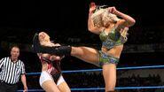 Charlotte kicks Lana