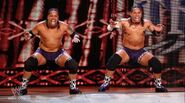 The Usos debut