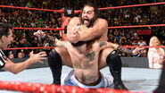Rusev put Enzo-Amore in submission