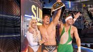 The Miz win back the champion with Maryse and Kenny