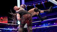 Randy Orton fighting against Bray Wyatt