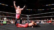 Samoa-Joe defeating Nakamura
