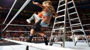 Becky powerbomb Carmella