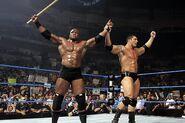 Bobby Lashley and Batista