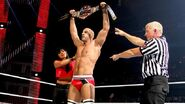 Antonio Cesaro defeated Santino