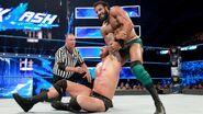 Mahal grappling Orton