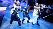 AJ Styles Karl Luke Gallows