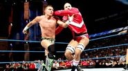 Cesaro tossed Kidd out
