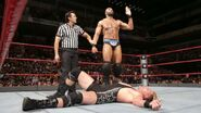 Jinder defeated Jack Swagger