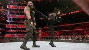 Regins big boot to Strowman