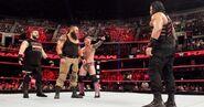 Braun Chris-Jericho Kevin-Owens and Roman Fatal-5-way-match