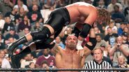 Goldberg holding Triple H
