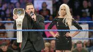 Miz confronting on SmackDown