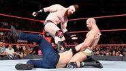 Sheamus and Cesaro beaten-down Dean-Ambrose