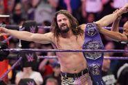 Brian Kendrick winning the WWE Cruiserweight