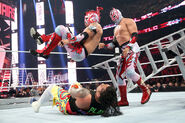 Kalisto and Sin Cara The Usos