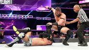 Neville stomping Tozawa