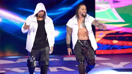 The Usos SmackDownc