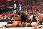 Kofi pinned Jericho