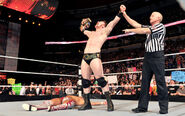 Sheamus defeating Daniel