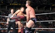 Daniel-Bryan against Chris Jericho